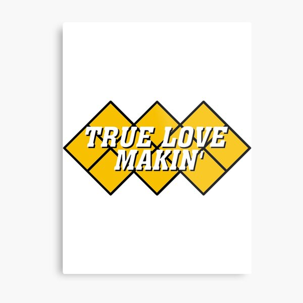 Capcom vs snk 2 cvs2 Classic RARE Design TRUE LOVE MAKIN. 100% Redrawn In Adobe Illustrator Vector Format. Metal Print