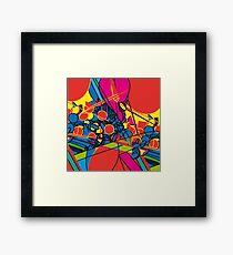 pop overload Framed Print