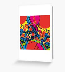 pop overload Greeting Card