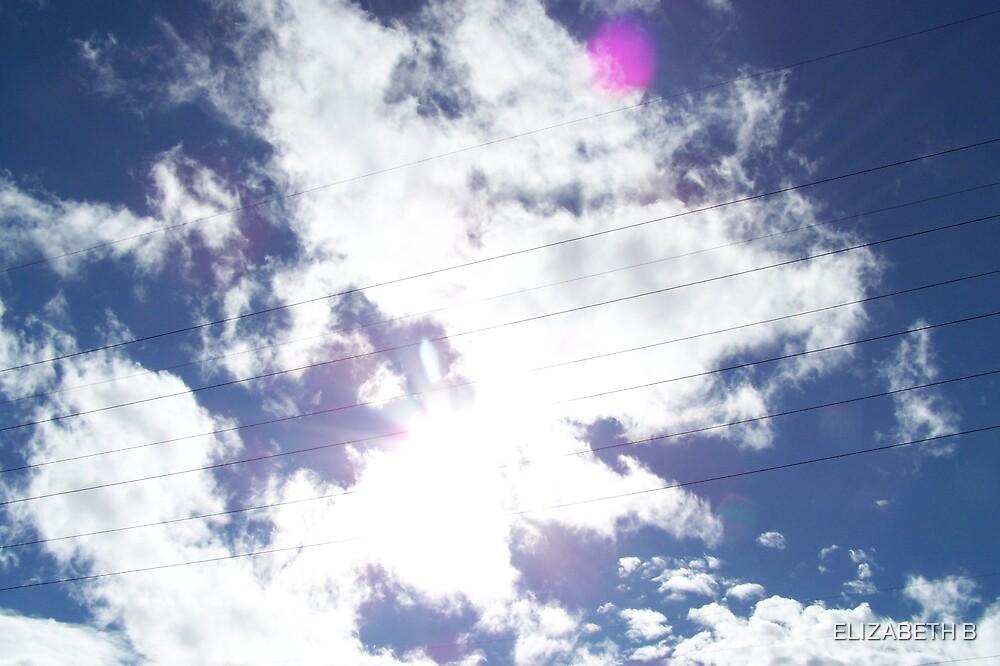 BLUE SKY by ELIZABETH B