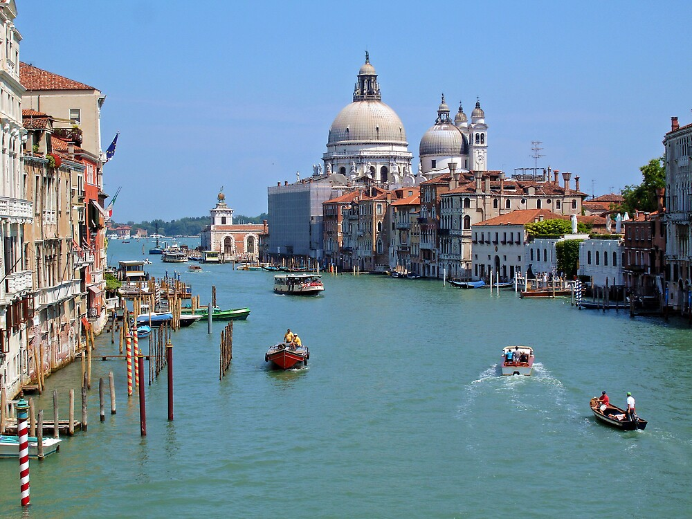 Old Venice by Jim  Grossi