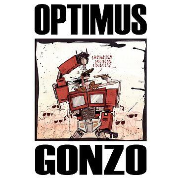 Optimus Gonzo by HouseofDaze