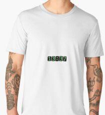 L33t'o'clock - 1337 Men's Premium T-Shirt