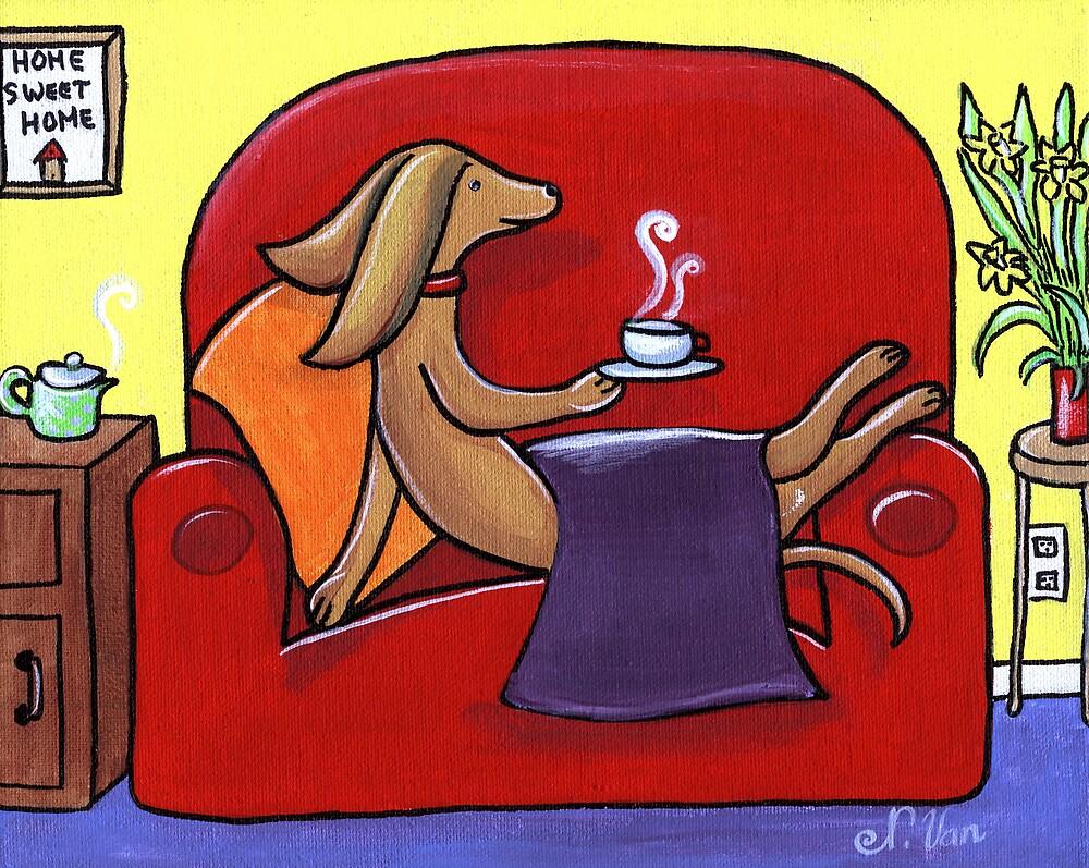 Coffee Break Time by Nathalie Van