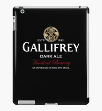 Gallifrey Dark Ale  iPad Case/Skin
