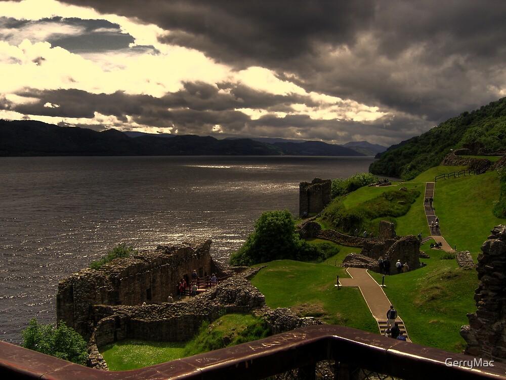 Urquhart Castle  Loch Ness by GerryMac
