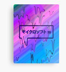 jap microsoft Metal Print