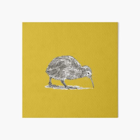 Kiwi Bird Art Board Print