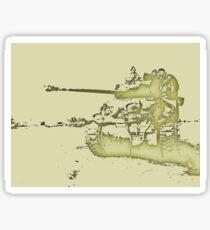Firefly Sherman Tank  Sticker