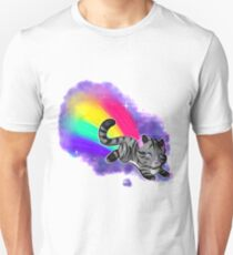 Rainbow Space Cat Unisex T-Shirt