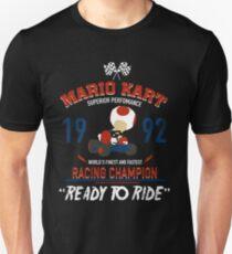 Racing Champion Toad Unisex T-Shirt