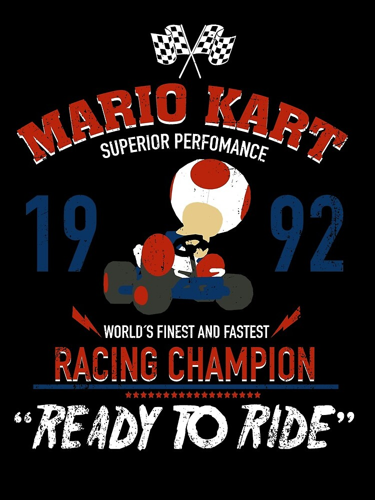 Racing Champion Toad by absolemstudio