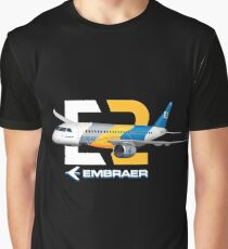 EMBRAER 195 E-2 E-JET  Graphic T-Shirt