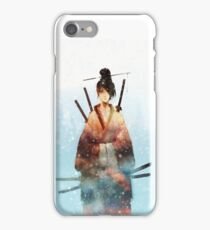 Fubuki no Onna-Bugeisha iPhone Case/Skin