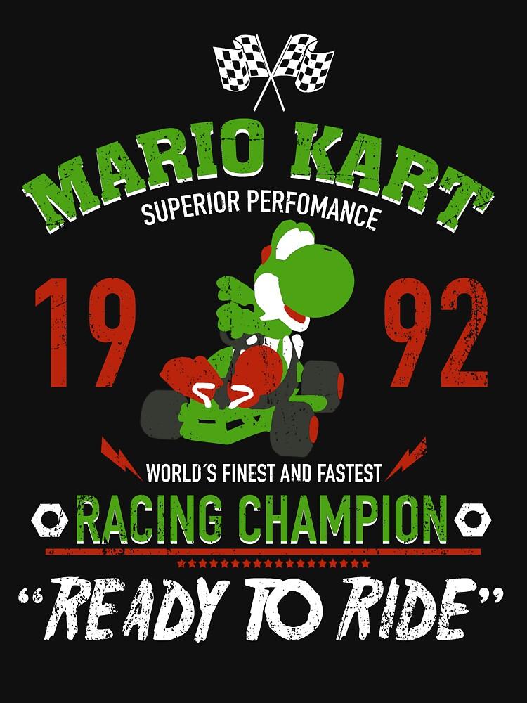 Yoshi Racing-Champion von absolemstudio