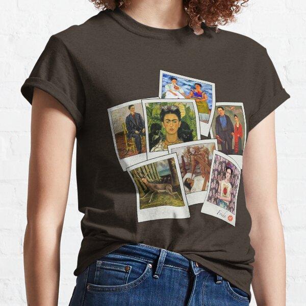 Polaroid Kahlo T-shirt classique