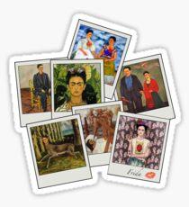 Polaroid Kahlo Sticker