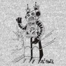 ROBOT REVOLUTION by James  Guinnevan Seymour