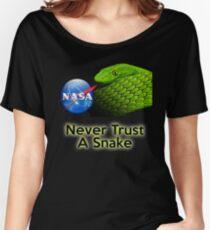 NEVER Trust a Snake Women's Relaxed Fit T-Shirt