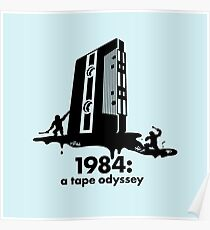 1984 a tape odyssey ~ space Poster