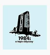 1984 a tape odyssey ~ space Photographic Print