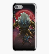 Zelda - Gold Lynel - Blood Moon iPhone Case/Skin