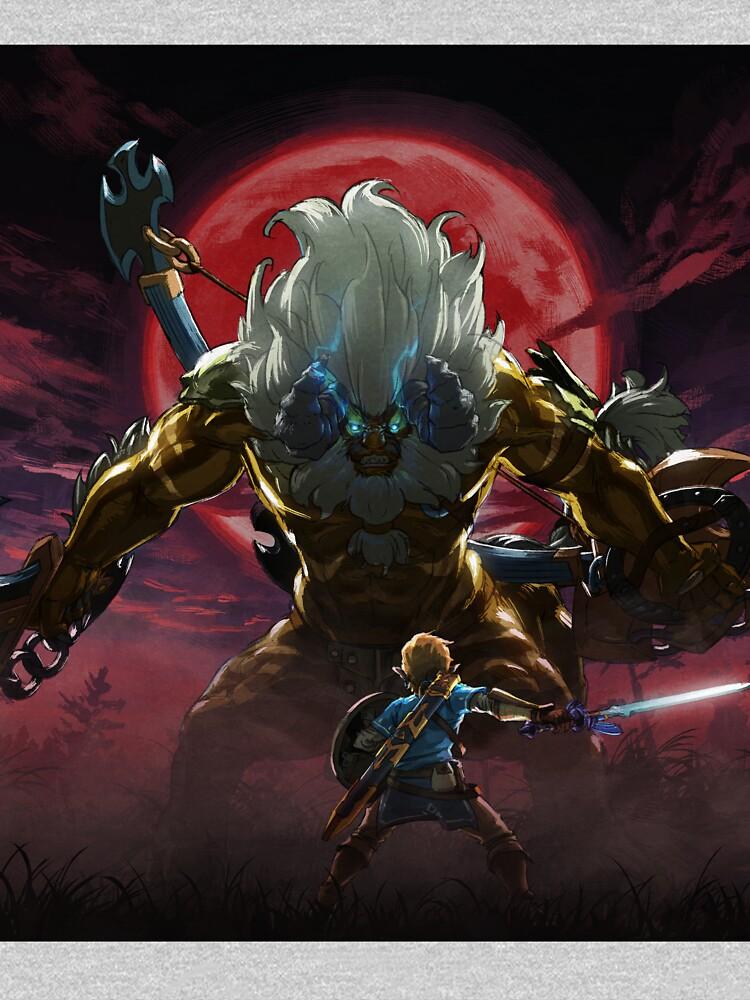Zelda - Gold Lynel - Blood Moon de CraigRedbubble