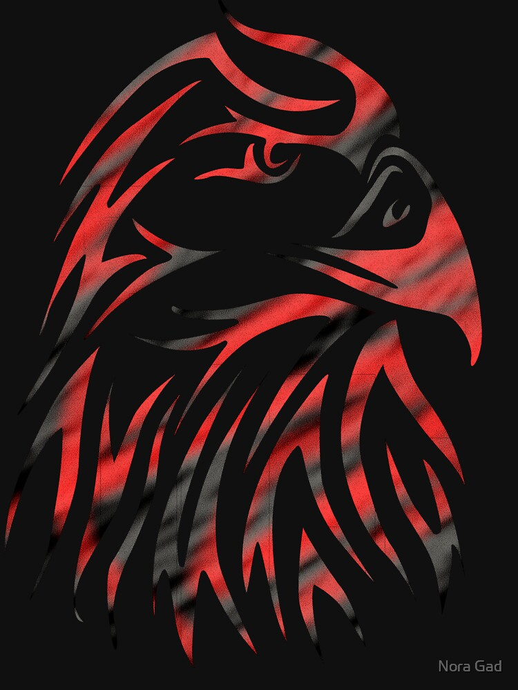 Eagle Red Tattoo de NoraMohammed
