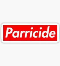Parricide Sticker