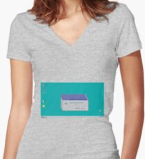 Win 2.0 Women's Fitted V-Neck T-Shirt