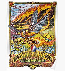 dead and company with LOGO June 10 2017 Folsom Field Boulder Colorado Poster