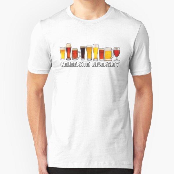 Celebrate Diversity  Slim Fit T-Shirt