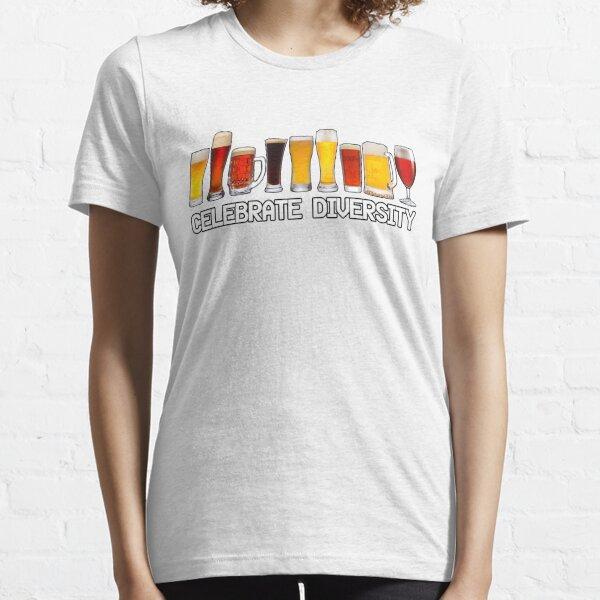 Celebre la diversidad Camiseta esencial