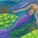 The Mermaid and The Turtles by GwenGyldenege