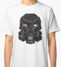 Black Metal Future Fighter Sci-fi Concept Art Classic T-Shirt