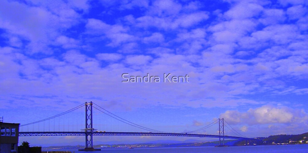 Bridge in Scotland by Sandra Kent