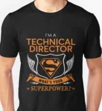 TECHNICAL DIRECTOR Unisex T-Shirt