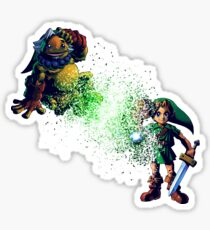 Link Dispersion Transform Sticker