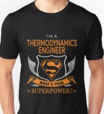 THERMODYNAMIK-ENGINEER Slim Fit T-Shirt