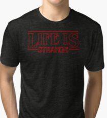 Life is Strange - Stranger Things Logo Style Tri-blend T-Shirt