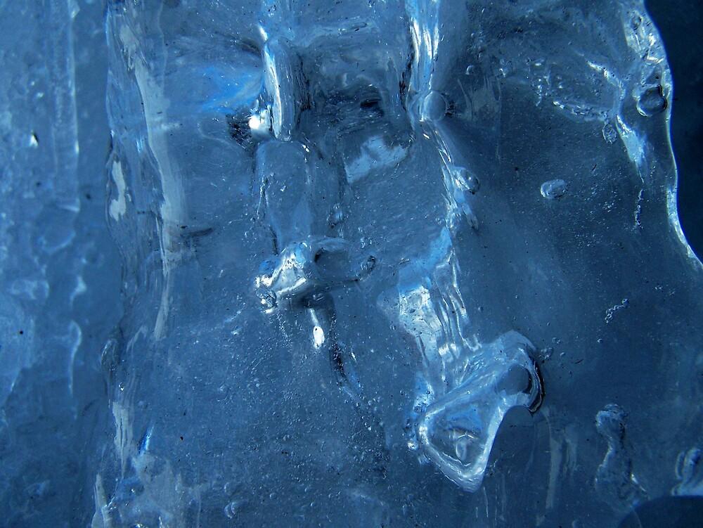 Ice Blue 1 by Gene Cyr