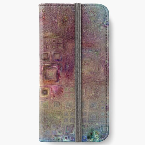 Crystalline Squares 6 iPhone Wallet