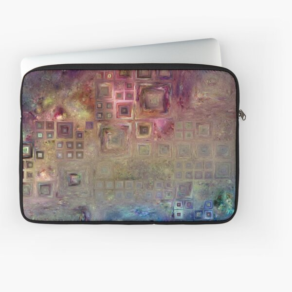 Crystalline Squares 6 Laptop Sleeve