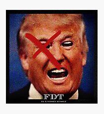 Donald Trump - YG Photographic Print