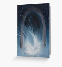 Fallen Angel In The Night Greeting Card