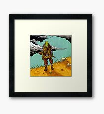 On the Hill top Framed Print