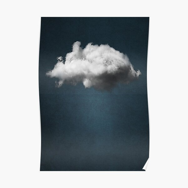WAITING MAGRITTE Poster