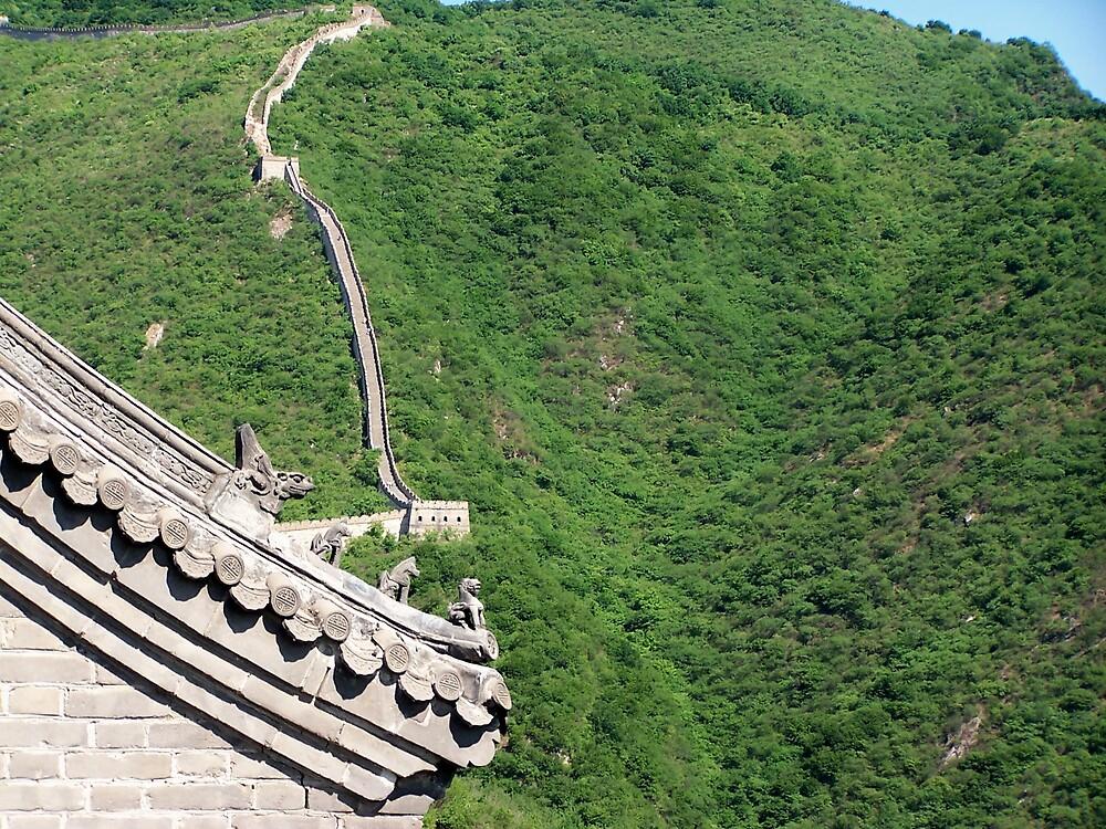 Great Wall, Mutianyu, Beijing 6 by Carrie Norberg