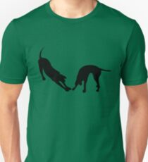 STRETCHING DOGS Unisex T-Shirt