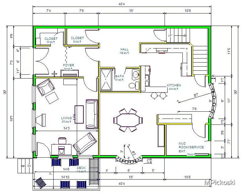 First floor attempt 1 by MPickoski